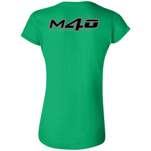 M4O 2-sided print G640L Gildan Softstyle Ladies' FITTED T-Shirt