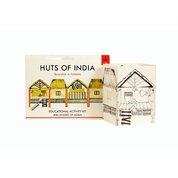 DIY Huts of India ~ Ikra Hut of Assam