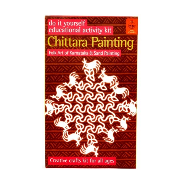 DIY Coloring Kit ~ Chittara Painting of Karnataka