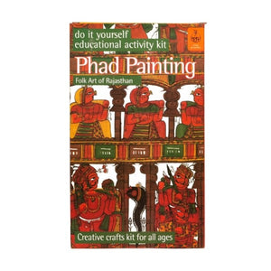 DIY Coloring Kit ~ Phad Painting of Rajasthan