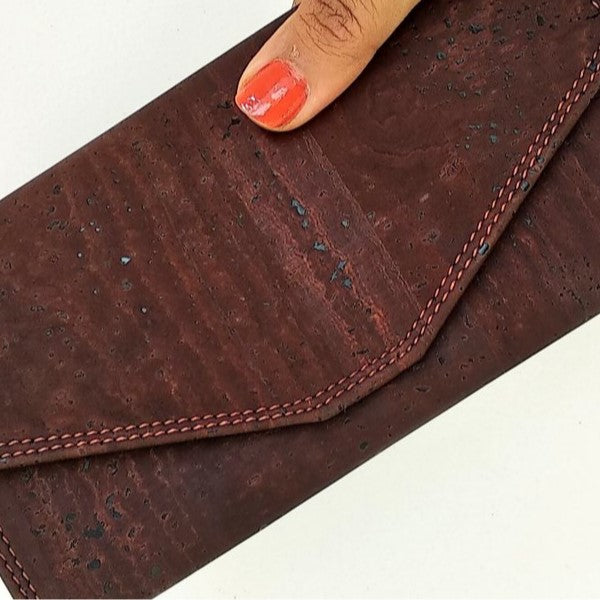 Brown Clutch Wallet