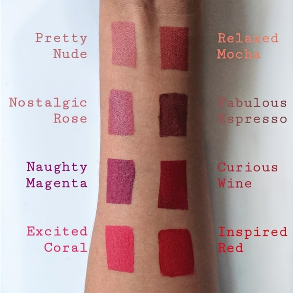Natural Liquid Lip Color ~ Naughty Magenta