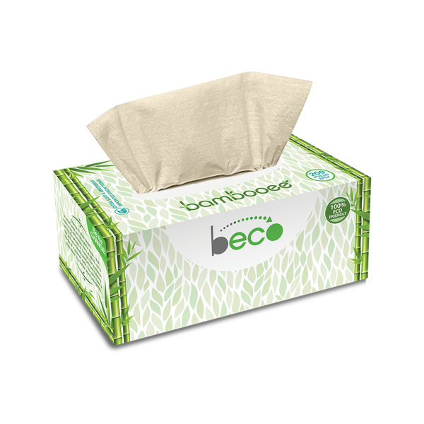 Bamboo Facial Tissue ~ Pack of 2