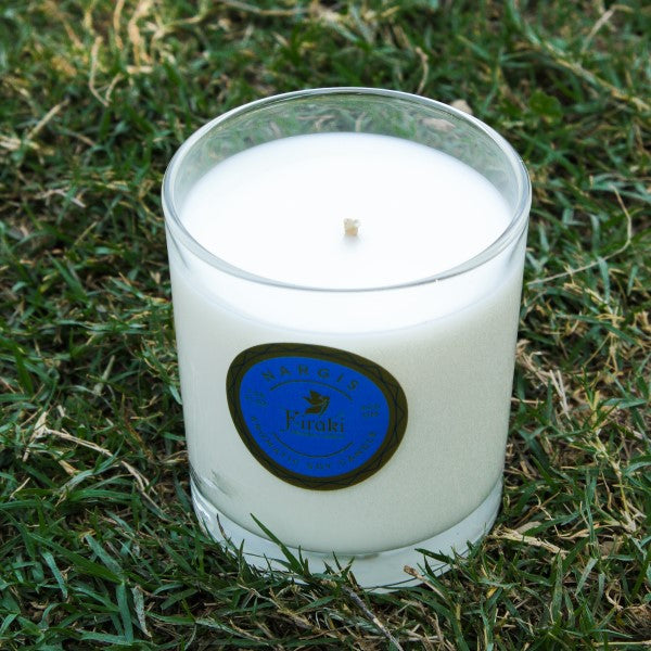 Nargis Soy Wax Glass Candle