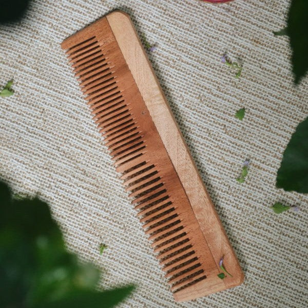 Neem Wood Comb ~ Large