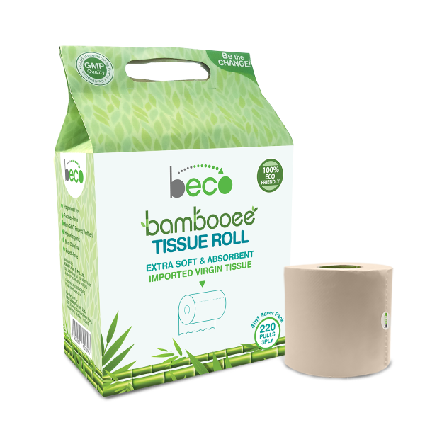 Bamboo Tissue Roll