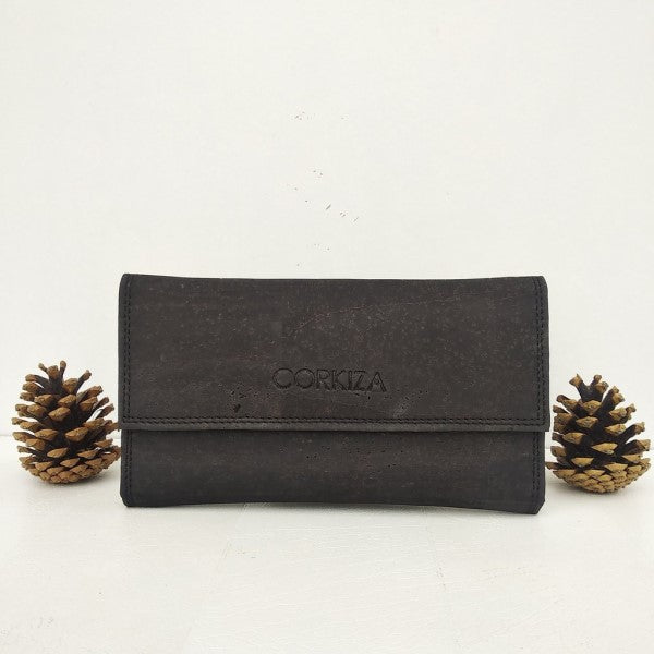 Black Trifold Purse
