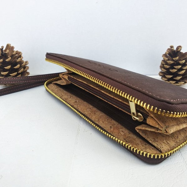 Brown Wristlet Wallet