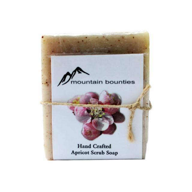 Apricot Scrub Soap [Pack of 2]