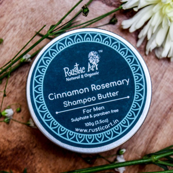 Cinnamon Rosemary Shampoo Butter