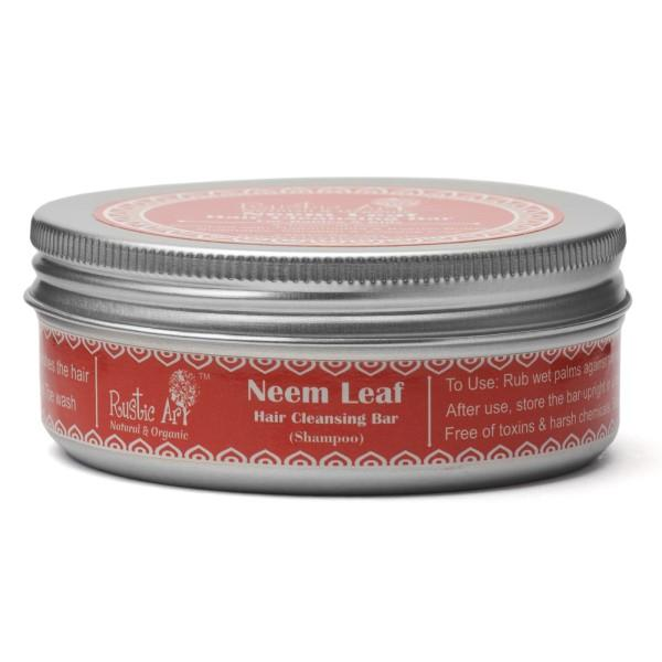 Neem Leaf Hair Cleansing Bar