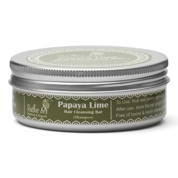 Papaya Lime Hair Cleansing Bar
