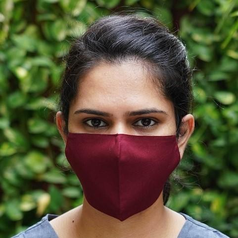 Snug Fit Three Layered Reversible Cotton Mask