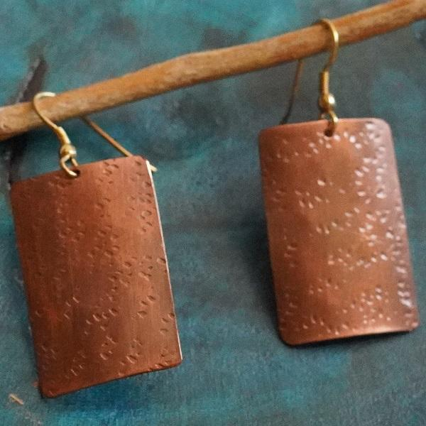 The Simple Paradox ~ Copper Earring