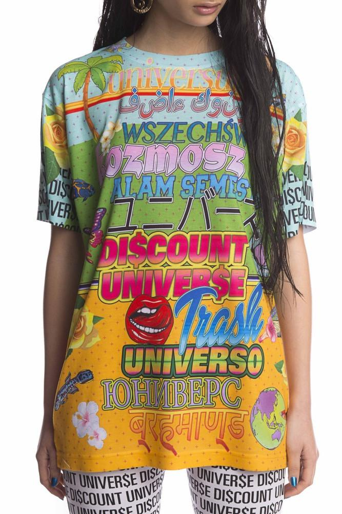 'WELCOME TO THE DI$COUNT UNIVER$E' DIGITAL TEE