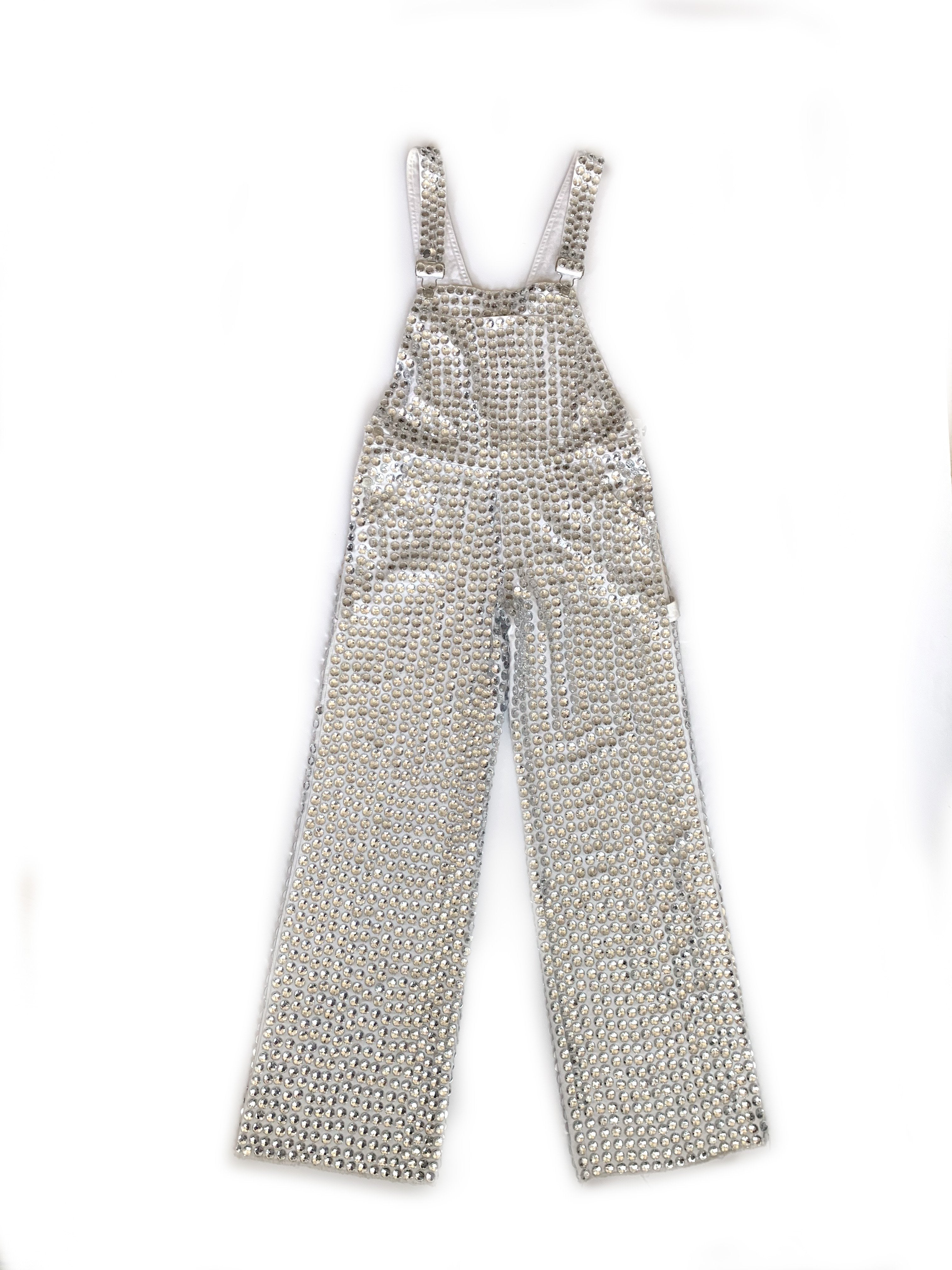 RARE ONE OFF SAMPLE! Jeweled Overalls