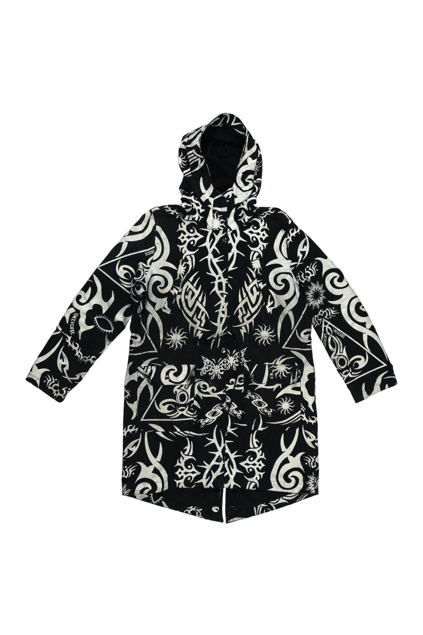Tribal Anorak Hooded Jacket