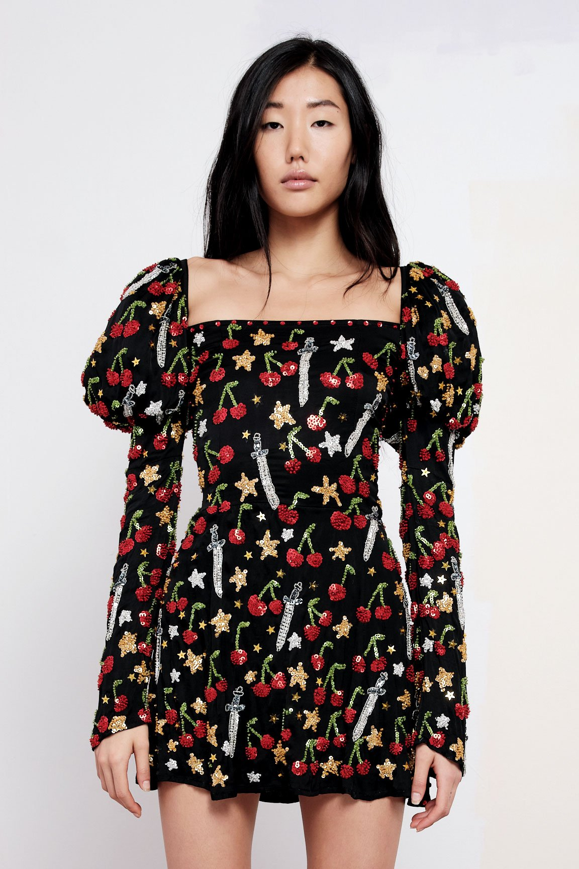 The Confessions Puff Sleeve Mini Dress