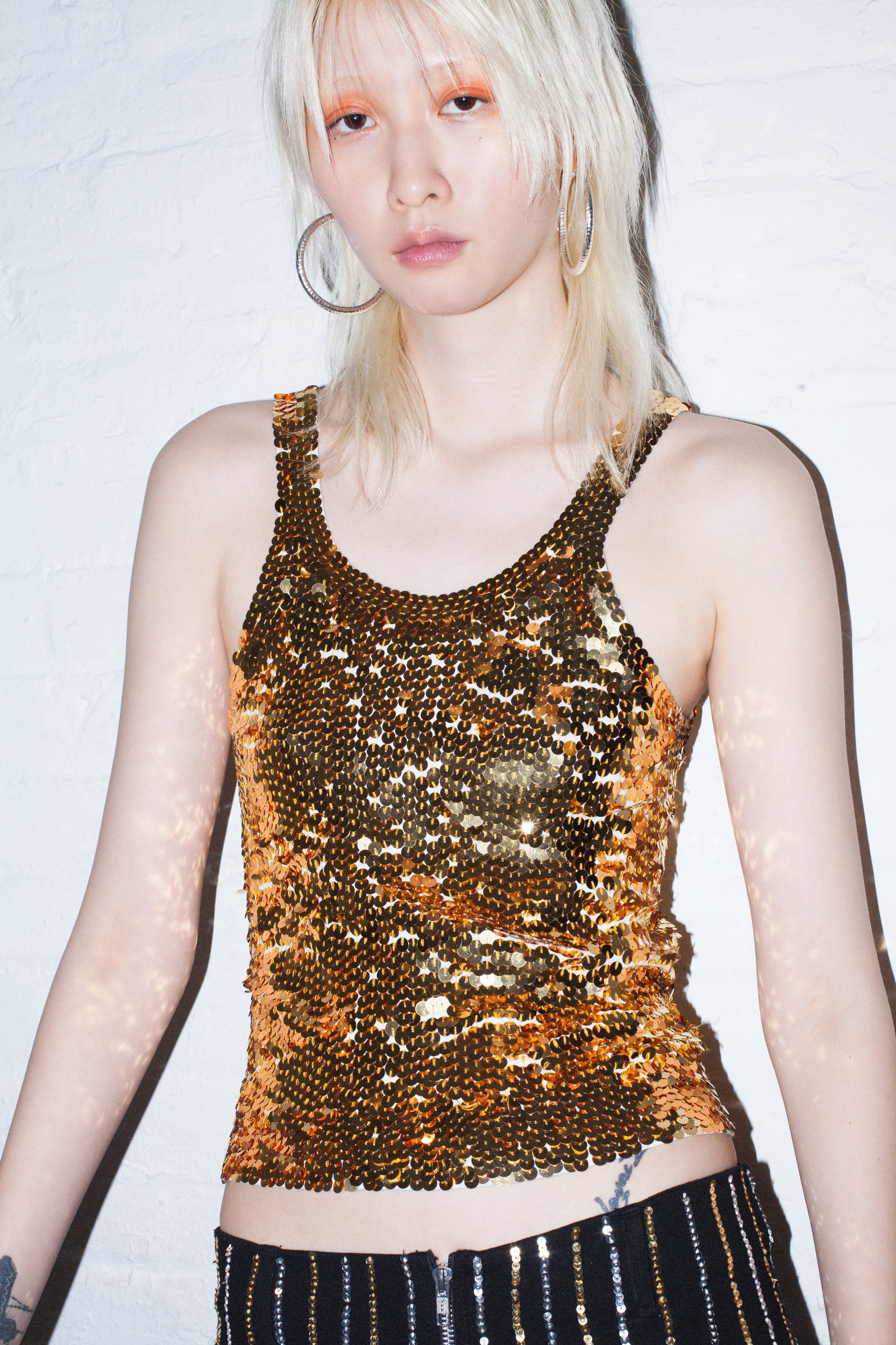 The Golden Glow Tank