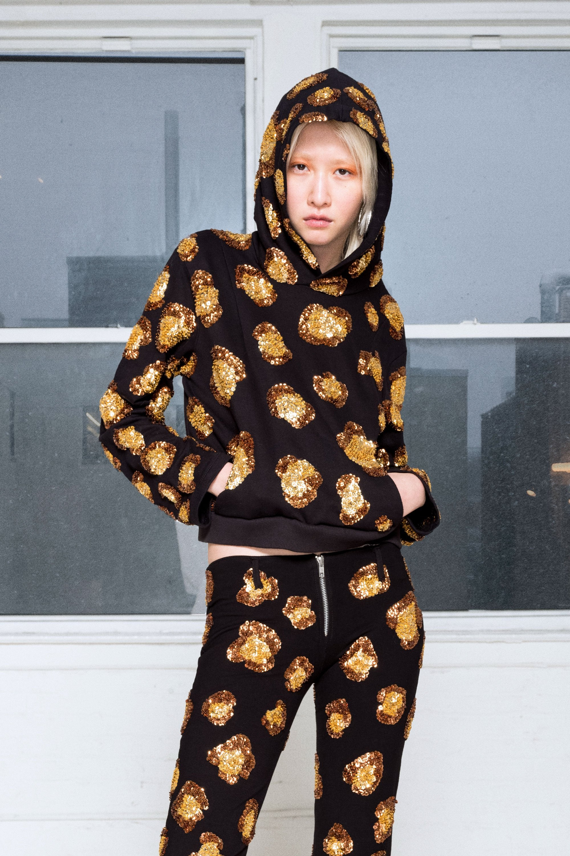 The Ice Leopard Hoodie