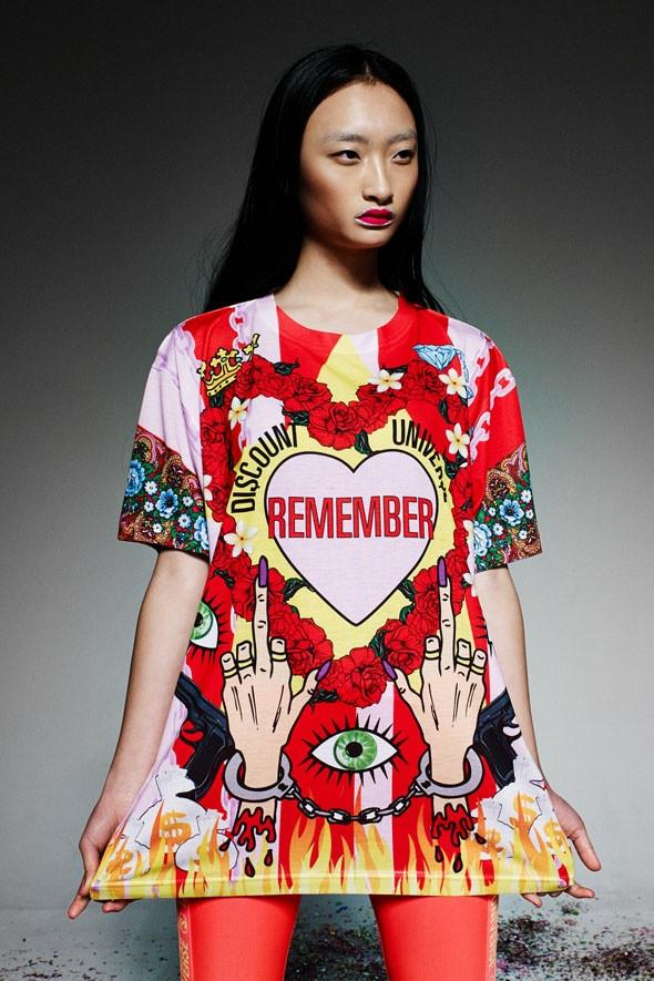 'REMEMBER' Digital Print Tee