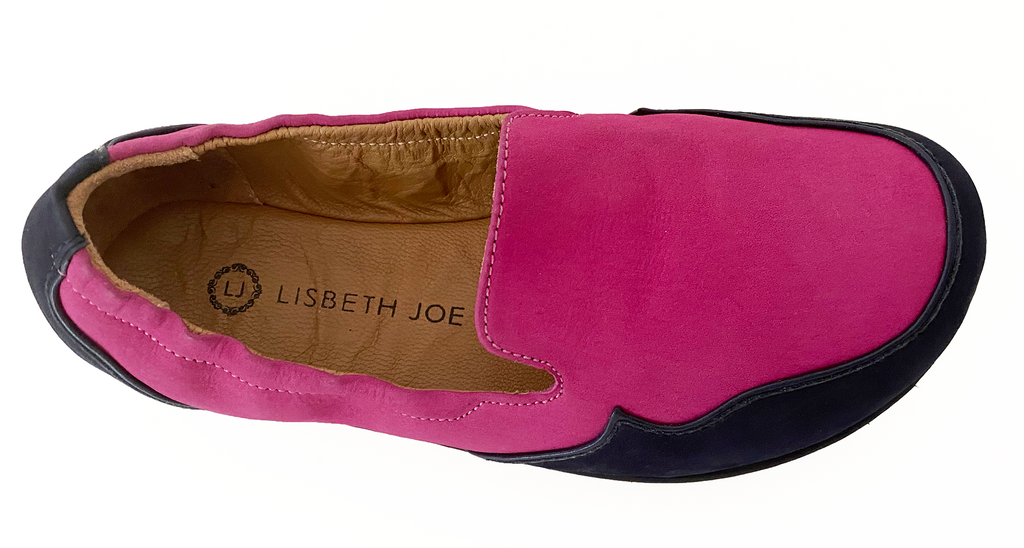 Junior London - Fuchsia/Navy