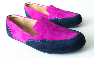 LONDON -Fuchsia & Navy