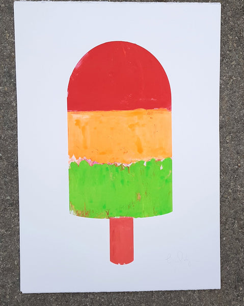 Traffic light lolly