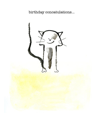Birthday concatulations
