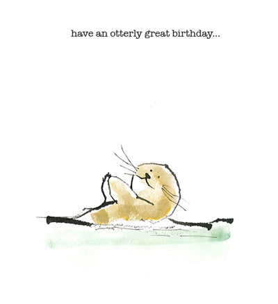 Have an otterly great birthday
