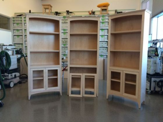 Classic Bookcase Construction Class - Aug 28-30