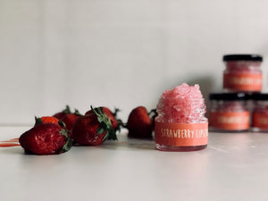 Strawberry Lip Scrub