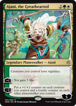 Ajani, the Greathearted (184)