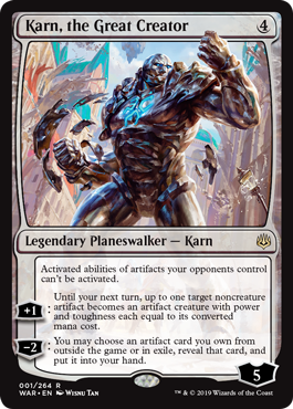 Karn, the Great Creator (001)