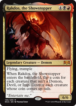 Rakdos, the Showstopper (199)