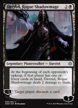 Davriel, Rogue Shadowmage (083)