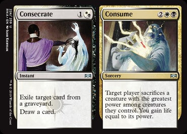 Consecrate // Consume (224)