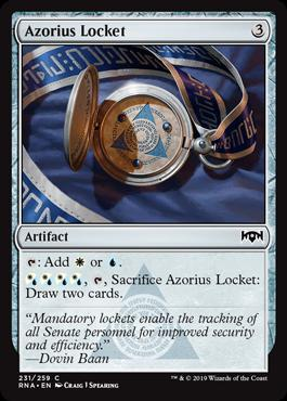 Azorius Locket (231)