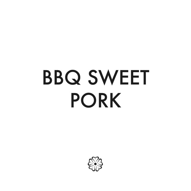 BBQ Sweet Pork W Fried Rice