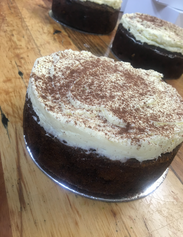 Carrot Cake (6in Round)