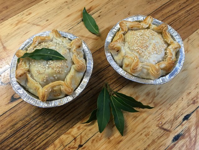 Lamb & Rosemary Pie