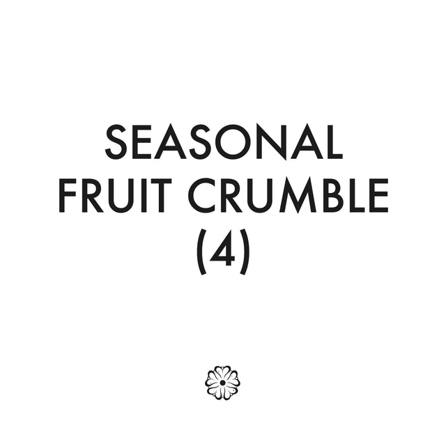 Seasonal Fruit Crumble (4)