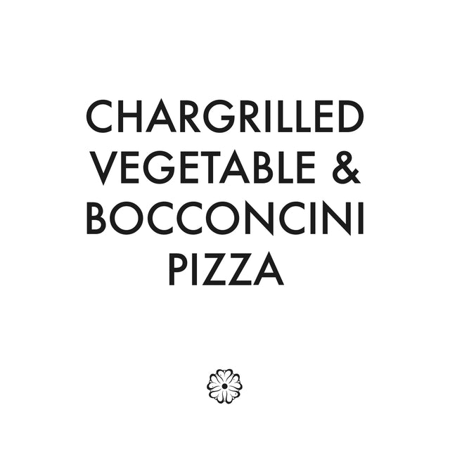 Chargrilled Vegetable & Bocconcini Pizza