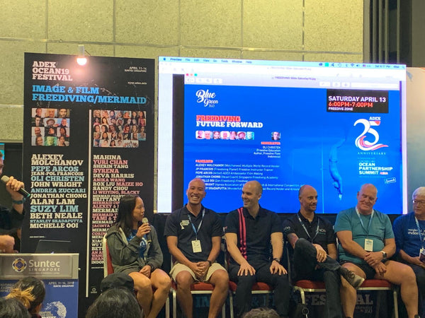ADEX Singapore 2019 - Freediving Speaker Panel