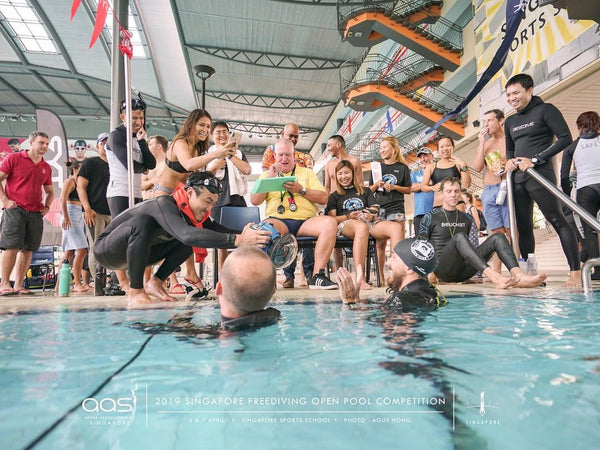 Singapore Freedive Pool Open Competition 2019