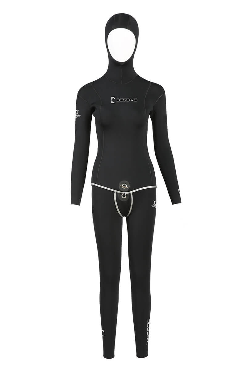 Bestdive Reversible Wetsuits (Hooded/Hoodless)- Women's