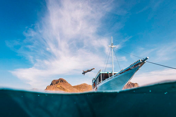 Freediving Liveaboard Experience in Komodo National Park, Indonesia