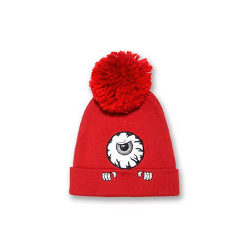 Peek-A-Book Keep Watch Pom Beanie
