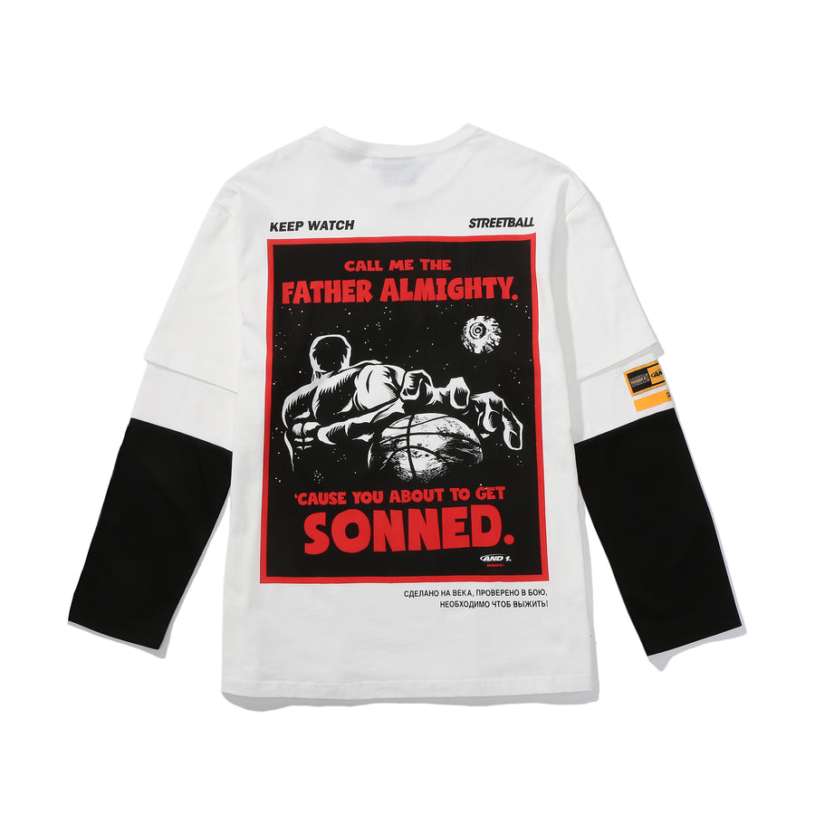 And1 x Mishka Sonned L/S Tee
