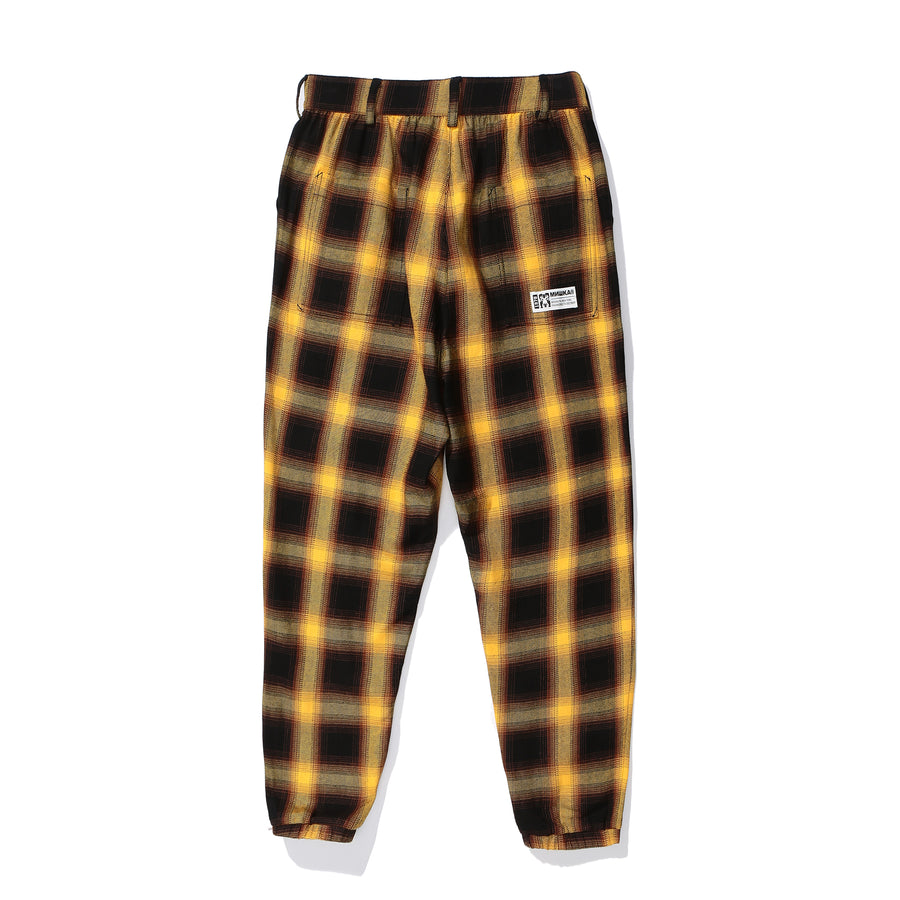 Lucas Tartan Cotton Pants